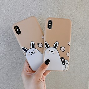 billige Apple-tilbehør-etui til Apple iPhone xr / iphone xs max mønster bagcover dyr / tegneserie hårdt tpu til iphone x xs 8 8plus 7 7plus 6 6plus 6s 6s plus