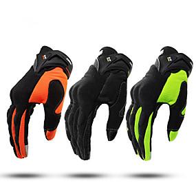voordelige Motorhandschoenen-volledige vinger unisex motorhandschoenen vezel antislip / ademend / lichtgewicht