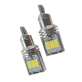 ราคาถูก ไฟถอยหลัง-2 ชิ้น cayenne m acan xfl xel can-bus w16w led สำรองแสง 3 ชุด 5 ชุด 6 ชุด 7 ชุด 7 ชุด t15 ย้อนแสงสีขาว