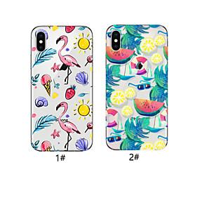 abordables Coques d'iPhone-cas pour apple iphone xr / iphone xs max motif couverture arrière tpu doux pour iphone x 8 8plus 7 7plus 6 6plus 6s 6s