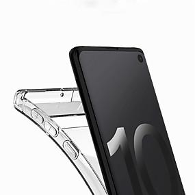 voordelige Galaxy J5(2017) Hoesjes / covers-hoesje Voor Samsung Galaxy J7 (2017) / J7 (2016) / J5 (2017) Transparant Achterkant Transparant Zacht TPU