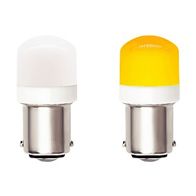 voordelige Auto-achterverlichting-2 stks 1156 ba15s auto auto led-lampen 4.5 w 9-30 v 3030 smd 6 led wit geel voor richtingaanwijzer lamp drl mistlamp remlicht