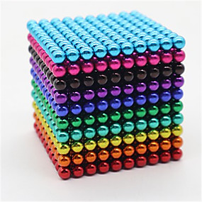 olcso Játékok & hobbi-1000 pcs 5mm Mágneses játékok mágneses Balls Építőkockák Super Strong ritkaföldfémmágnes Neodímium mágnes Neodímium mágnes Mágneses Stressz és szorongás oldására Office Desk Toys Enyhíti ADD, ADHD, a
