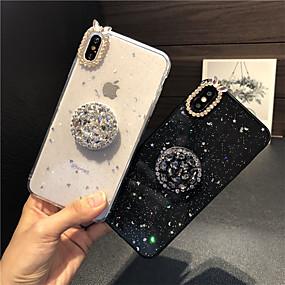 olcso iPhone tokok-Apple iphone 7 plus / iphone 8 és csillogó csillogás / áttetsző hátlap csillogó fénye / szexi hölgy lágy szilikagél iphone 7 plusz / iphone 8 pluszhoz
