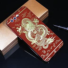 voordelige Huawei Honor hoesjes / covers-hoesje Voor Huawei Honor 9 Patroon Achterkant dier Hard Acryl / Metaal