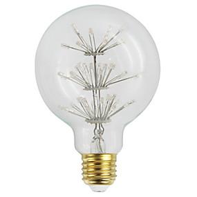 Χαμηλού Κόστους Λαμπτήρες LED με νήμα πυράκτωσης-YWXLIGHT® 1pc 3 W LED Λάμπες Πυράκτωσης 360 lm E26 / E27 G95 60 LED χάντρες LED Υψηλης Ισχύος Διακοσμητικό Ζεστό κίτρινο 220-240 V 110-120 V