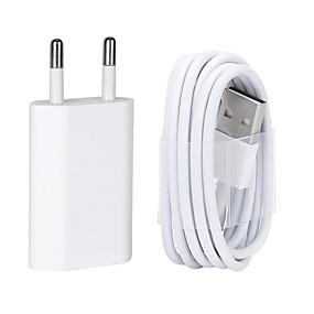 billige Lader med kabel-USB-laderkabel med 8 pin data for iphone / 7/6 / 6s pluss / 5 / 5s / 5c / se