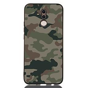 voordelige Huawei Honor hoesjes / covers-hoesje Voor Huawei Huawei Honor 10 / Honor 10 Lite / Huawei Honor 9 Lite Schokbestendig / Mat / Patroon Achterkant Landschap TPU