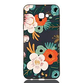 voordelige Galaxy J7(2017) Hoesjes / covers-hoesje voor Samsung Galaxy J730 / J6 (2018) / J530 Schokbestendig / Mat / Patroon Achterkant Bloem TPU Soft voor Galaxy J330 / J6 Plus / J4 Plus / J4 2018 / M10 / M20 / M30 / J310 / J510 / J3 / J2 Pro