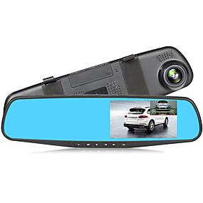 voordelige Auto DVR's-addkey nachtzicht auto dvr camera achteruitkijkspiegel digitale videorecorder auto camcorder dash cam fhd 1080p dubbele lens registrator