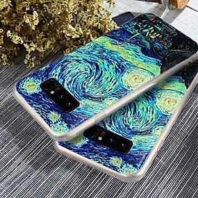 voordelige Galaxy S7 Edge Hoesjes / covers-hoesje Voor Samsung Galaxy S9 / S9 Plus / S8 Plus Stofbestendig / Ultradun / Patroon Achterkant Landschap Zacht TPU