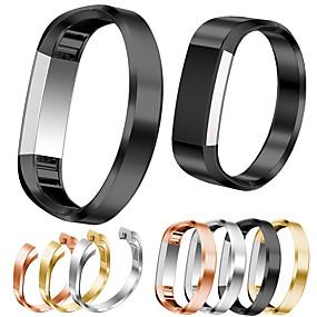 baratos Pulseiras para Fitbit-Pulseiras de Relógio para Fitbit Alta HR / Fitbit Alta Fitbit Fecho Moderno Aço Inoxidável Tira de Pulso