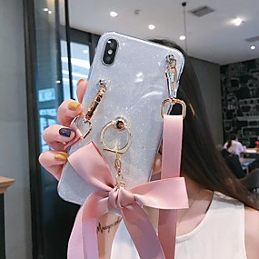 voordelige Galaxy A7(2016) Hoesjes / covers-hoesje Voor Samsung Galaxy A5(2018) / A6 (2018) / Galaxy A7(2018) Glitterglans Achterkant Glitterglans TPU