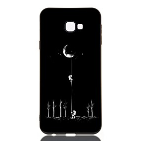 voordelige Galaxy J7(2017) Hoesjes / covers-hoesje Voor Samsung Galaxy J7 (2017) / J6 (2018) / J5 (2017) Schokbestendig / Mat / Patroon Achterkant Landschap TPU