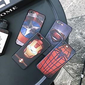 Недорогие Сортировать по модели телефона-Кейс для Назначение Apple iPhone XS / iPhone XR / iPhone XS Max Защита от удара / Защита от пыли / Рельефный Кейс на заднюю панель Мультипликация ТПУ