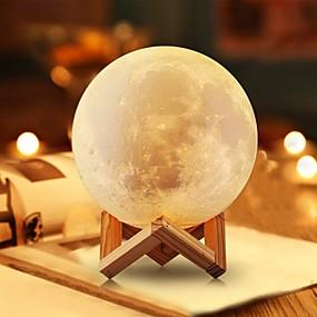 ieftine Lumini Nocturne LED-1 buc Lampă de noapte de masă Alb Cald Baterii AAA Powered Decorațiuni / Romantic Baterie