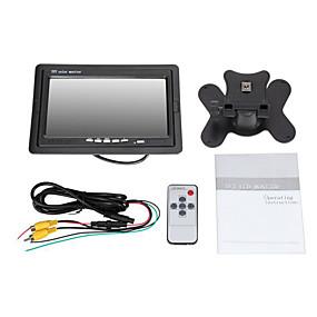 voordelige Auto-elektronica-LCD-monitor met 7 inch dubbele invoer - 2 av input 800x480 resolutie pal ntsc standaarden