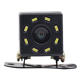 voordelige Auto-elektronica-auto achteruitrijcamera nachtzicht 8 led achteruitrijcamera hd video waterdichte achteruitrijcamera parkeermonitor ccd 170 graden groothoek