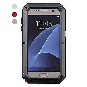 voordelige Galaxy S7 Edge Hoesjes / covers-hoesje Voor Samsung Galaxy S8 Plus / S8 / S7 edge Schokbestendig / Waterbestendig Volledig hoesje dier Hard Metaal