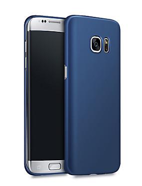 ieftine Carcase Mobil-Maska Pentru Samsung Galaxy S7 edge / S7 Anti Șoc / Ultra subțire Capac Spate Mată Greu PC pentru S7 edge / S7 / S6 edge plus