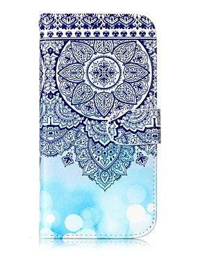 cheap Samsung Accessories New Arrivals-Case For Samsung Galaxy S8 Plus / S8 Wallet / Card Holder / with Stand Full Body Cases Mandala Hard PU Leather for S8 Plus / S8 / S7 edge