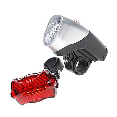 Eclairage de Vélo / bicyclette Lampe Avant de Vélo Lampe Arrière de Vélo LED Cyclisme AAA Lumens Batterie Cyclisme