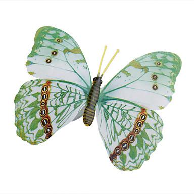 adesivi murali farfalla casa 3d farfalla glow-in-scuro con perno&tende magnete frigo decorazione