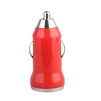 Coche 700ma cigarrillo alimentado usb adaptador / cargador (CC 12v / 24v) -rojo para el iphone 6 iphone 6 más