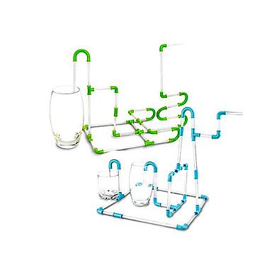 ulike kombinasjoner DIY plast sugerør