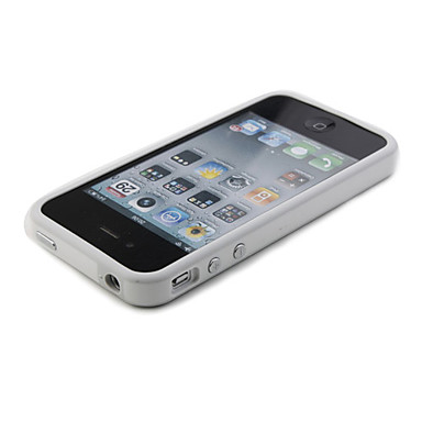 Bumper Case for iPhone 4 (White)