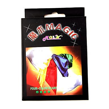 Magic Assemble Four-color Scarf