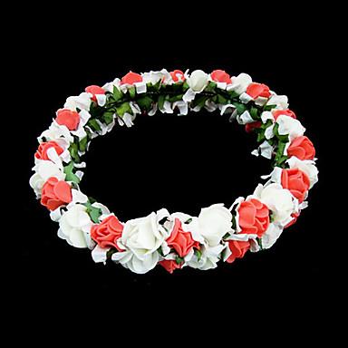 Kristal Kumaş Köpük - Tiaras Çiçekler 1 Düğün Özel Anlar Parti / Gece Dış mekan Başlık