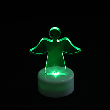 Angel Design Colorful LED Night Light Christmas Festival Decoration