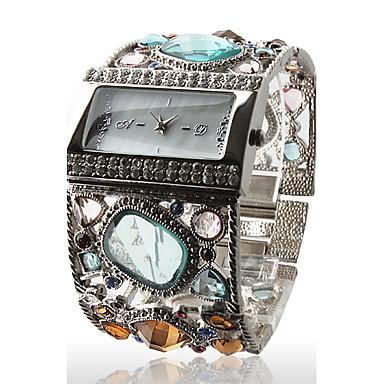 Pentru femei Ceasuri de lux Ceas de Mână Diamond Watch Quartz Argint Ceas Casual Analog femei Sclipici Atârnat Modă