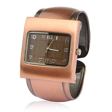 banda de estilo brazalete de reloj de pulsera - naranja bronzen