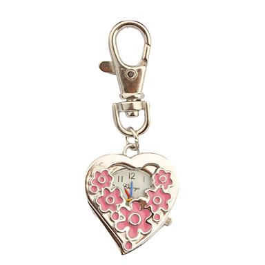 Edelstahl Taschenuhr mit Schlüsselanhänger