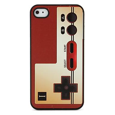 juego de unigue jugador patrón protector caso para iPhone 4 y 4S