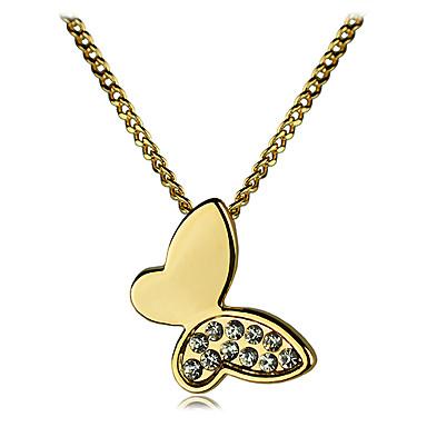 Κοσμήματα Κρεμαστά Κολιέ Πάρτι / Καθημερινά / Causal Κρύσταλλο / Κράμα 1pc Γυναικεία Δώρα Γάμου