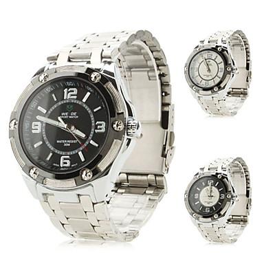 Men's Alloy Analog Quartz Wrist Watch (Assorted Colors)