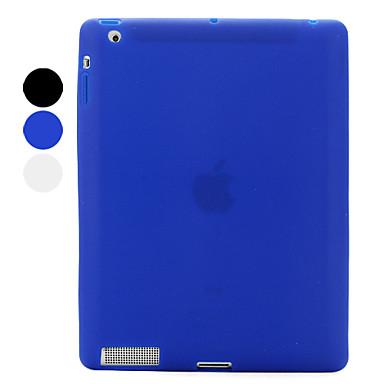 beschermende chocolade bonen stijl siliconen case voor de iPad 3 en iPad 4 (verschillende kleuren)