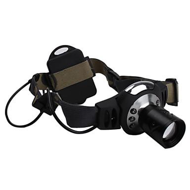 160 lumen høy effekt zoom hodelykt med cree q3 lysdioder