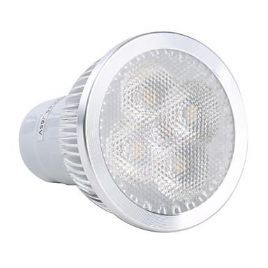 GU10 4W 360lm 3000-3500K varmvitt ljus LED-spotlight lampa (85-265V)