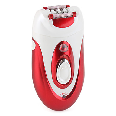 2-in-1 Women's Shaver (Red)