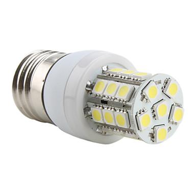 e26 / e27 ha portato luci di mais t 27 smd 5050 300lm bianco naturale 5500k ac 220-240v