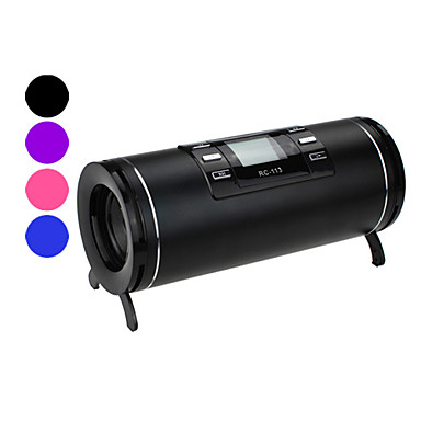 Mini-MP3-Player-Lautsprecher mit FM-Radio RC-113 (1,4