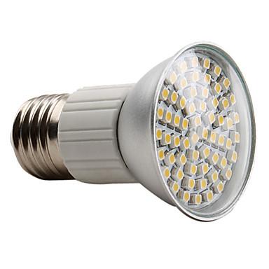 E27 3528 SMD 60-LED Warm White 150-180LM Light Bulb (230V, 3-3.5W)