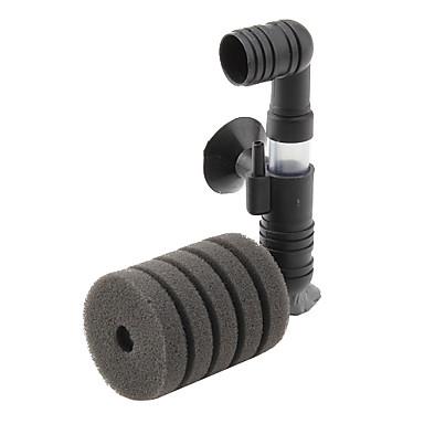 Low-Noise Aquarium  Water Dual-Sponge Filter (12cm x 9cm x 4cm)