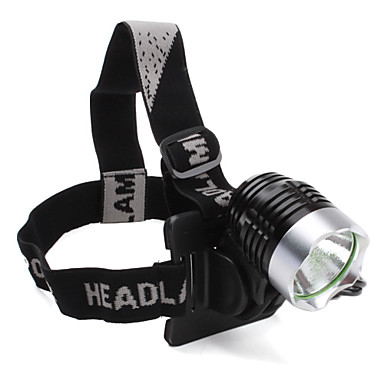 LED Flashlights/Torch / Headlamps Mode 1200 Lumens Cree XM-L T6 18650 Cycling - Others , Black Stainless steel