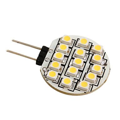 G4 3528 SMD 15-LED 0.36W Warm White Light Bulb for Car (DC 12V)
