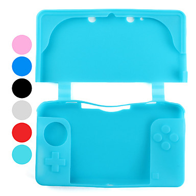 Premium Custodia in silicone per Nintendo 3DS (colori assortiti)